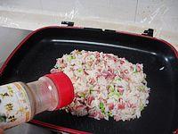 芦笋培根炒饭的做法步骤:13