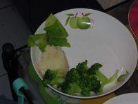 黑椒牛排配土豆泥的做法步骤:6