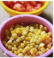 茄汁玉米的做法步骤:2