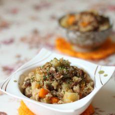 土豆牛肉胡萝卜焖饭