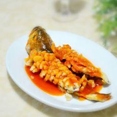 茄汁糖醋鱼的做法