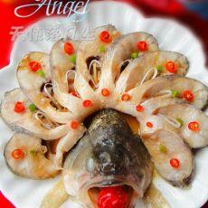 酱香开屏鱼的做法