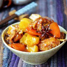 蚝油鸡翅炖土豆