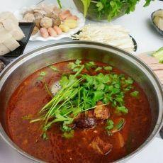红焖牛肉火锅的做法