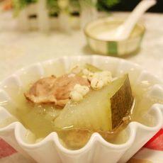 冬瓜薏米水鸭汤
