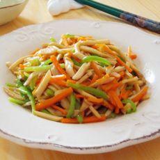 蚝油杏鲍菇丝