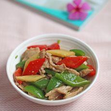 青椒炒肉的做法