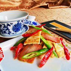 腊味家常豆腐的做法