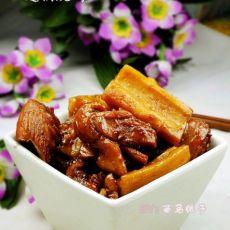 莲藕炖鸡的做法