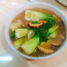 香菇青菜羹的做法
