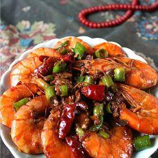 吮指香辣虾的做法
