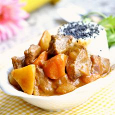 咖喱牛肉的做法