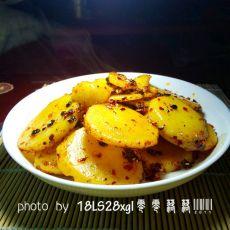 开胃干锅土豆片的做法