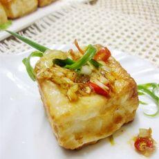 香辣浇汁豆腐的做法
