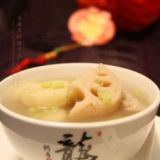 莲藕马蹄猪骨汤