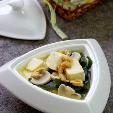 海带豆腐减肥汤的做法
