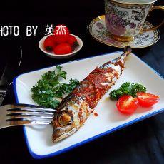 茄汁烤鱼的做法