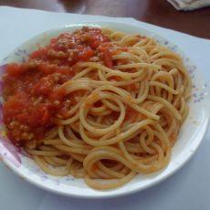懒人版番茄意面的做法