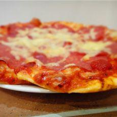 意大利香肠比萨简易版
