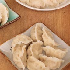 白菜韭菜猪肉馅水饺