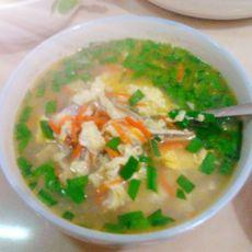 小银鱼蛋汤
