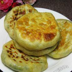 韭菜虾仁豆腐馅饼