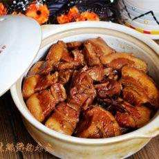 腊味五花肉砂锅豇豆煲