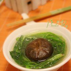 香菇菠菜汤的做法