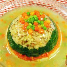 三仙豆腐的做法