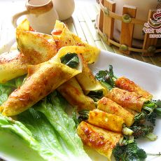 烤干豆腐蔬菜卷的做法