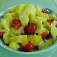 简易水果沙拉的做法