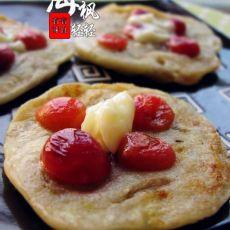 樱桃香蕉饼