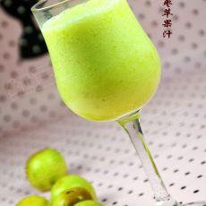冬枣苹果汁的做法步骤