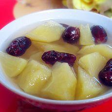 大枣苹果冰糖汤
