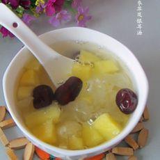 红枣苹果银耳汤的做法