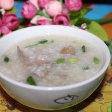 猪肝瘦肉粥(辅食)
