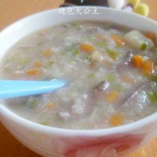 芹菜猪肝粥的做法