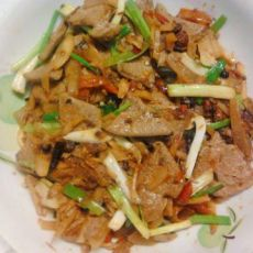 酸辣泡菜炒猪肝的做法