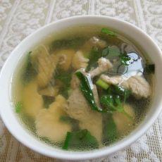 薄荷猪肝肉片汤