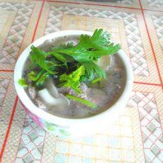 磨菇猪肝汤的做法