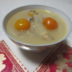 萝卜鲫鱼金桔汤