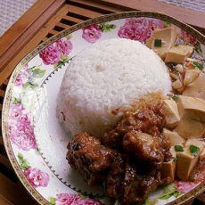 豆豉蒸排骨饭的做法