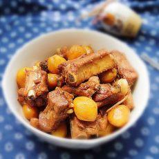 小土豆烧排骨的做法