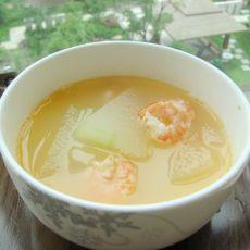 虾仁冬瓜汤的做法