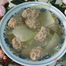 猪肉冬瓜丸子汤