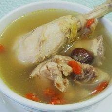 黄芪杞子煲老鸡的做法