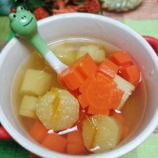 甘蔗胡萝卜汤的做法
