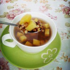 红薯绿豆汤