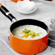 果味奶香麦片粥的做法