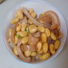 猪皮炖黄豆